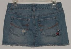 Womens 1 / 2 Juniors Aeropostale Blue Jean Micro Mini Skirt in Morris, Illinois