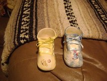 Handpainted Ceramic Baby Shoes - Cake Decoration? in Houston, Texas