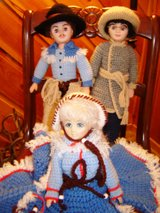 3 Unique Crocheted Dolls in Alamogordo, New Mexico