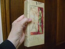 """Sealed """"Paris"""" Notepad Book Plus Pencil - Great All-Occasion Gift in Kingwood, Texas"""