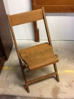 antique wooden folding deckchurch chairs circa furniture for sale on kingwood bookoo - Church Chairs For Sale